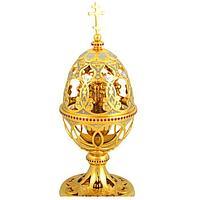 Пасхальное яйцо просечное «Храм с куполами»