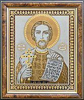 Настенная икона «Александр Невский» в раме