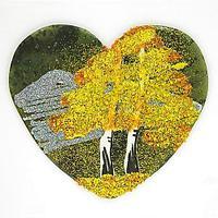 Магнит с рисунком «Сердце» большой