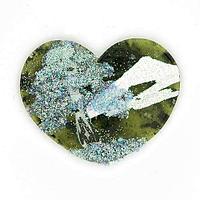 Магнит с рисунком «Сердце» малый