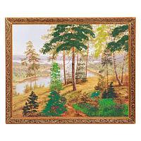Картина «Русский ландшафт», багет - 40х50 см.