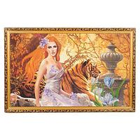Картина «Рыжая бестия», багет - 60х100 см.