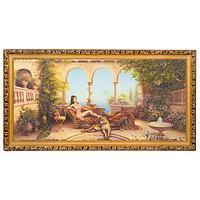 Картина «Шахерезада», багет - 33х70 см.