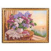 Картина «Сирень», багет - 50х70 см.