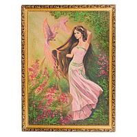 Картина «Сказочная нимфа», багет - 50х70 см.