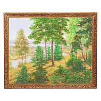 """Картина """"Тропа к реке"""" багет №5 (40х50 см) В1"""