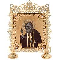 Икона настольная «Серафим Саровский»
