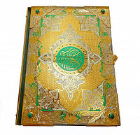 """Книга """"Коран"""" в кожаном переплете (большой)"""