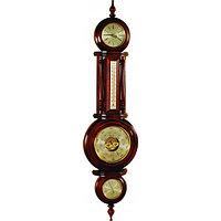 Метеостанция настенная (часы, барометр, гигрометр, термометр) М-07