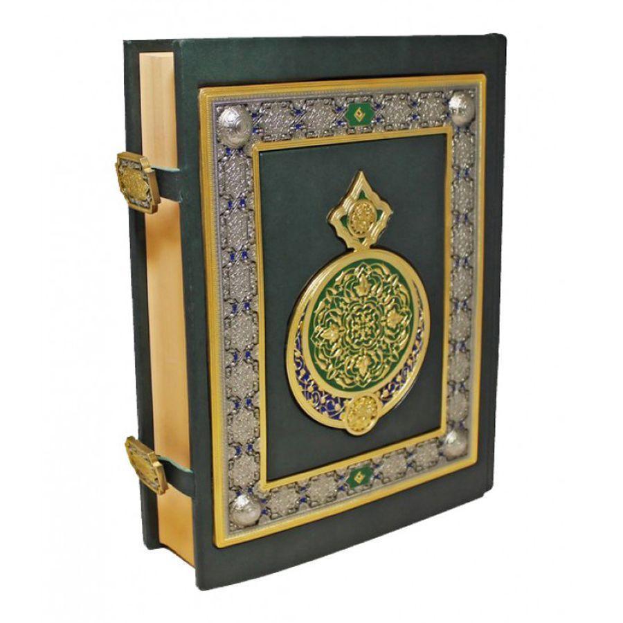 Книга «Коран» (Перевод и комментарии М.-Н. О. Османова) в кожаном переплете - фото 4