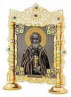 Икона «Сергий Радонежский на подставке»