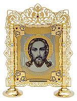 Икона «Спас Неруктворный на подставке»
