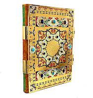 Книга «Коран» (Подарочное издание, издание 2) в кожаном переплете
