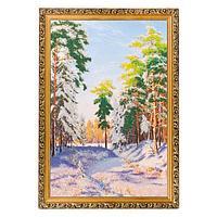 Картина «Зимний полдень», багет - 40х60 см.