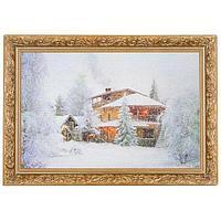 Картина «Зимняя сказка», багет - 20х30 см.