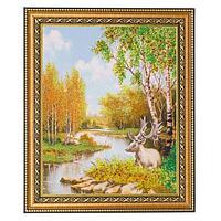 Картина «Золото осени», багет - 24х30 см.