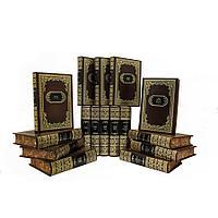 Книга «Библиотека русской классики в 100 т» в кожаном переплете