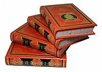 Книга «Джек Лондон» в кожаном переплете