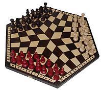 Шахматы подарочные «На троих» большие