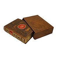 Книга «Иллюстрированная история Екатерины II» в кожаном переплете