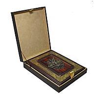 Книга «Оружие с древних времен до XIX века» в кожаном переплете