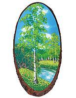 Картина на дереве 30х35см