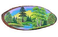 Картина на дереве 45х50см