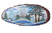 Картина на дереве 60х65см