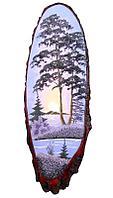Картина на дереве «Рассвет» 65-70 см