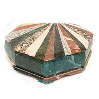 Шкатулка Ракушка с мозаикой большая 29х20х9 см