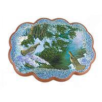 Панно «Два фазана» (25х19 см)