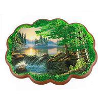 Панно «Лесной водопад» (25х19 см)