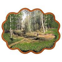 Панно «Мостик через ручей» (34х26 см)