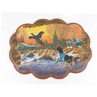 Панно «Охота на фазана» (25х19 см)