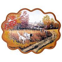 Панно «Осенняя охота» (34х26 см)