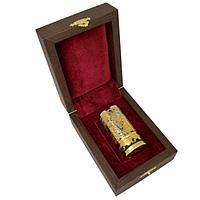 Подарочная стопка «Армейская» латунь, позолота