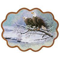 Панно «Пара орланов» (34х26 см)