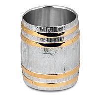 Стопка 0,06л «Бочка» (Серебро с золочением)