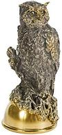 Серебряная Стопка-перевертыш «Филин»
