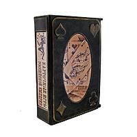 Книга в кожаном переплете «Карточные игры Российской империи»