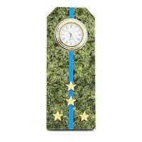 Часы Погон «капитан ВВС, ВКС, ВДВ», камень змеевик