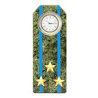 Часы Погон «полковник ВВС, ВКС, ВДВ», камень змеевик
