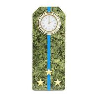 Часы Погон «старший лейтенант ВВС, ВКС, ВДВ», камень змеевик