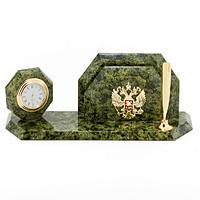 Мини-набор Герб, камень змеевик