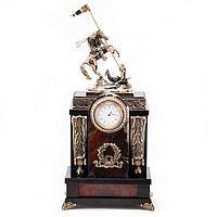Часы «Георгий Победоносец», камень яшма (вариант 4)