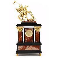 Часы «Георгий Победоносец» яшма