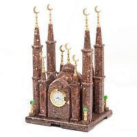 Часы «Мечеть» малая, камень креноид