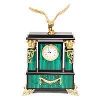 Часы «Орел» малахит