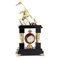 Каминные часы «Георгий Победоносец» креноид