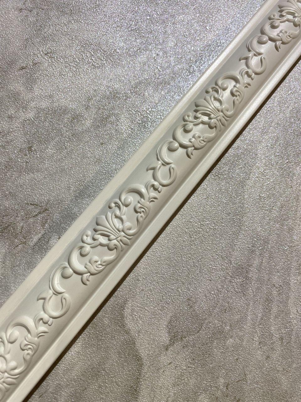 Полиуретановые молдинги Point E-01 Pure White 30*14